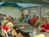 """Radtour der TVL-Gruppe """"50plus"""" am 02.08.2014 in Viernheim Verschnaufpause unserer """"Generation 50plus"""" am 02.08.2014 nach Viernheim"""