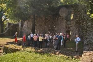TVL-Wandergruppe in der Ruine Rodenstein