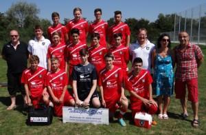 U17 der TVL-Fußballabteilung in der Saison 2013-2014