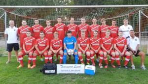 2. Mannschaft der TVL-Fußballabteilung in der Saison 2013/2014