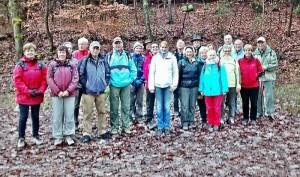 TVL-Winterwanderung am 23.11.2014