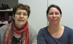 Susanne Braun und Ramona Prätsch