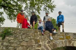 Radtour der Generation 50plus am 25.04.2015 an die Badische Bergstraße