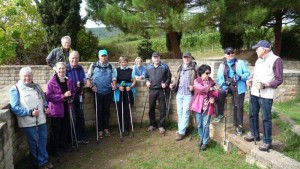 TVL Nordic Walking-Gruppe 2015