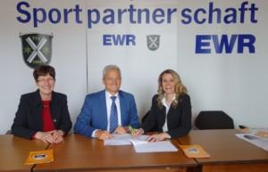 Unterzeichnung EWR-Sponsorenvertrag 2017