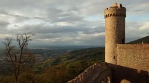 Blick vom Auerbacher Schloss