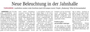 Pressebericht Lampertheimer Zeitung vom 29.03.2018