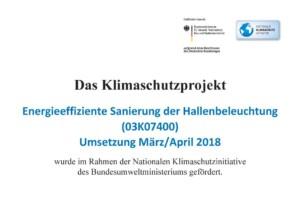 TVL-Klimaschutzprojekt