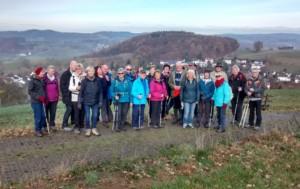 TVL-Wanderer auf den Höhen des Odenwalds