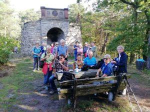 TVL-Wandergruppe am 13.10.2019 auf der Kaiser-Wilhelm-Höhe